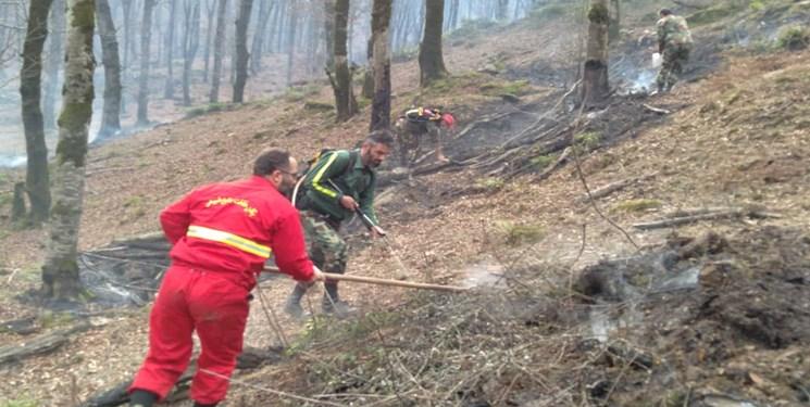 تلاطم آتش در گیلان/ خطر همچنان استان را تهدید میکند
