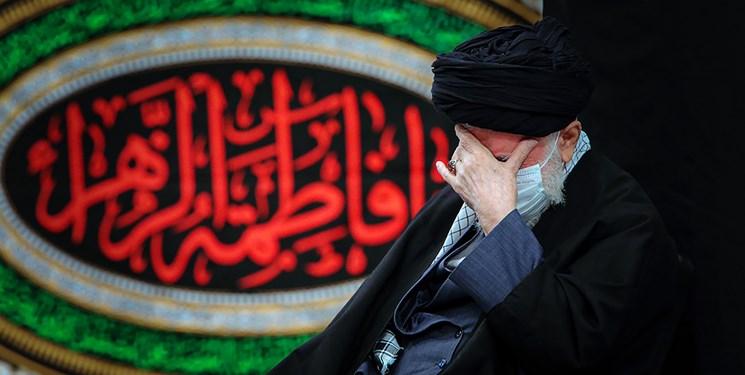دومین شب مراسم عزاداری حضرت  زهرا (س) در حضور رهبر انقلاب