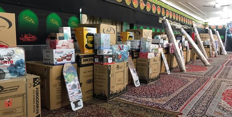 توزیع ۱۳ جهیزیه و ۱۵۰۰ بسته غذایی توسط فعالان یک مسجد