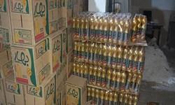 کشف احتکار مواد غذایی ۲۵ تنی در هرسین