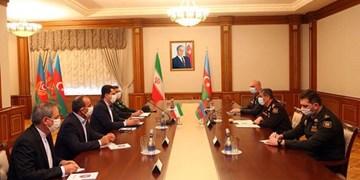 تأکید ایران و جمهوری آذربایجان بر تقویت همکاری نظامی