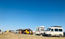 اجتماع ۴۰ کمپر در روستای هدف گردشگری درک