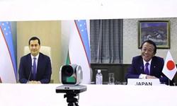 افزایش همکاریهای دوجانبه محور نشست مقامات ازبکستان و ژاپن