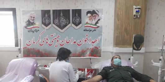 نذر مؤمنانه؛ پیشگامی هیئتیهای کرمان برای اهدای خون