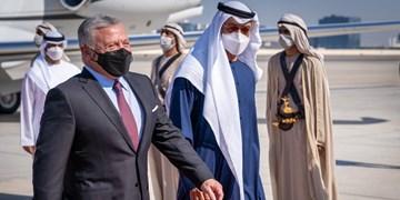 سفر شاه اردن به امارات