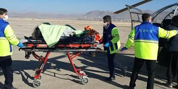 بالگرد اورژانس چهارمحال و بختیاری برای نجات جان مادر 18 ساله بازفتی به پرواز درآمد