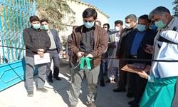 افتتاح مدرسه تولید احسان در شهرستان دلگان