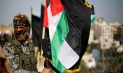 مراسم جشن پیروزی جهاد اسلامی در غزه+ تصاویر