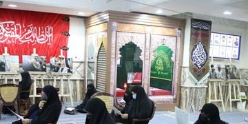 عزاداری شب شهادت حضرت فاطمه (س)  با حضور خانواده سردار دلها در بیتالزهراء کرمان+تصاویر