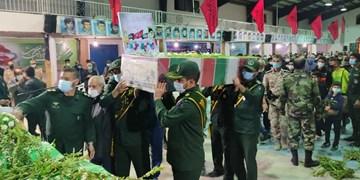برگزاری آیین وداع با شهید گمنام دفاع مقدس در فیروزآباد