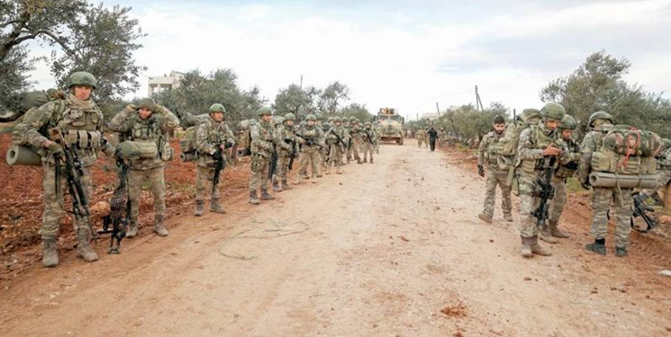 ۳ نظامی  ترکیه در شمال سوریه کشته شدند