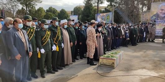 فیروزآباد در تشییع شهید گمنام بهشتی شد