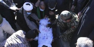 گزارش تصویری | تشییع پیکر مطهر ۲ شهید گمنام در بیرجند
