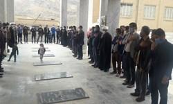 مراسم عزاداری شهادت حضرت فاطمه(س) در قلعه رئیسی برگزار شد/تصاویر