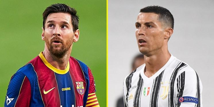 با ارزشترین بازیکنان بالای 32 سال / تفاوت 38 میلیونی مسی با رونالدو