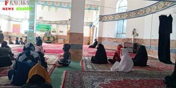 از برگزاری مراسم  شهادت حضرت زهرا(س) در روستای «کتا» تا حک تصویر سردار دلها+تصاویر