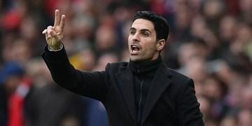آرتتا:حذف از جام ناراحت کننده است/تلاش مان کافی نبود
