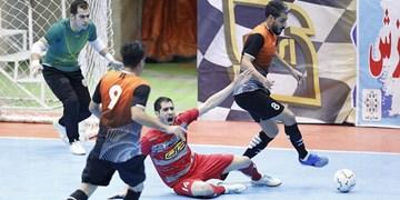 گزارش تصویری از برد تیم فوتسال کراپ الوند مقابل شهید منصوری