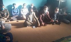 اجرای برنامه های عزاداری ایام فاطمیه در دادگستری چاروسا/تصاویر
