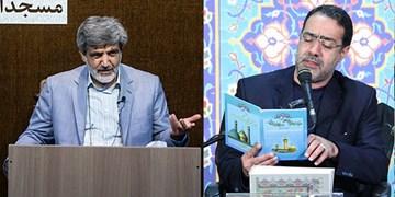 برنامه دعای ندبه مهدیه و هیأت رزمندگان در تهران/ ندبهخوانی سماواتی و غلامرضازاده