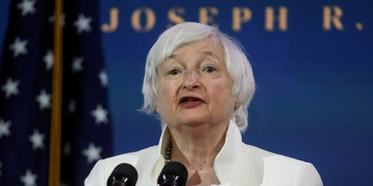 رئیس سابق بانک مرکزی وزیر خزانه داری آمریکا شد