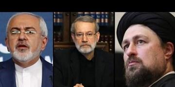 میزان آرای منفی لاریجانی، ظریف و حسن خمینی برای انتخابات/ دلیل نامه احمدی نژاد به روحانی برای جلوگیری از جنگ