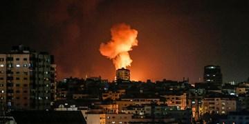 المیادین: صدای انفجار در مرکز نوار غزه شنیده شد