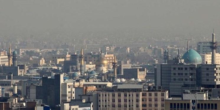 کیفیت هوا در ۱۴ منطقه مشهد در وضعیت نارنجی قرار گرفت