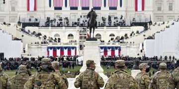 رویترز: ۲۰۰ نفر از نظامیان حفظ امنیت مراسم تحلیف بایدن کرونا گرفتهاند