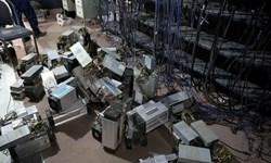 کشف 121 دستگاه ماینر از یک شرکت بازیافت در صوفیان