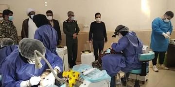 پزشکان جهادی در هرمز کولاک کردند/ ۸ روز میمانیم تا دندان خرابی نماند