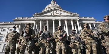 احتمال حمله مجدد به کنگره آمریکا؛ ۵ هزار نیروی گارد ملی در واشنگتن میمانند