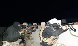 الحشد الشعبی بار دیگر با عناصر داعش در جرف النصر درگیر شد