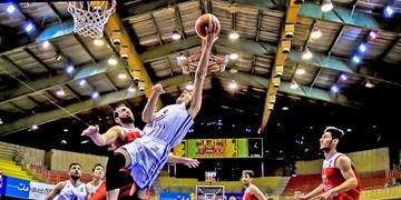 فیلم  سبزپوشان پاس بندرلنگه میزبان لیگ دسته یک بسکتبال کشور