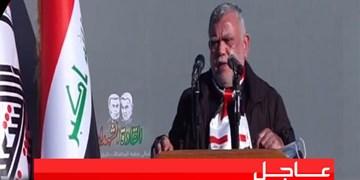 هادی العامری: تا عراقی امن و خالی از تروریسم و نیروهای خارجی از پای نمینشینیم