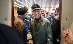 فیلم| مراسم بزرگداشت قهرمان اچ-3 در کرمانشاه