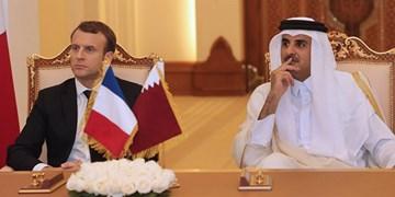 گفتوگوی تلفنی ماکرون و امیر قطر درباره تحولات بینالمللی