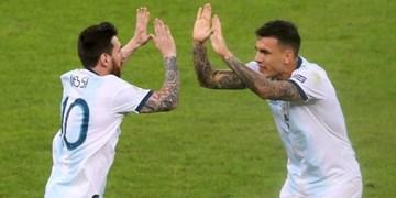 پاردس: امیدوارم مسی به پاریس بیاید تا با آرژانتینیها کار کنم