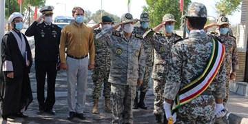 بازدید فرمانده کل ارتش از پدافند هوایی جزایر سهگانه خلیج فارس
