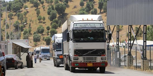 تجار تا  اطلاع ثانوی از ارسال محمولههای تجاری به دوغارون خودداری کنند