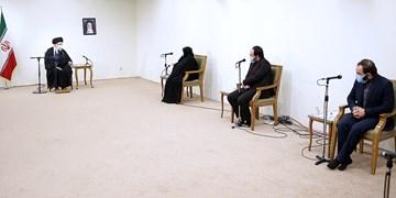 دیدار خانواده  شهید فخریزاده||| با رهبر معظم انقلاب
