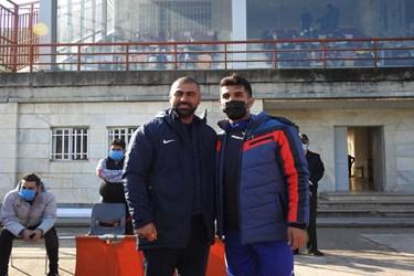 عکس  عبور شهرداری آستارا از سد ملوان