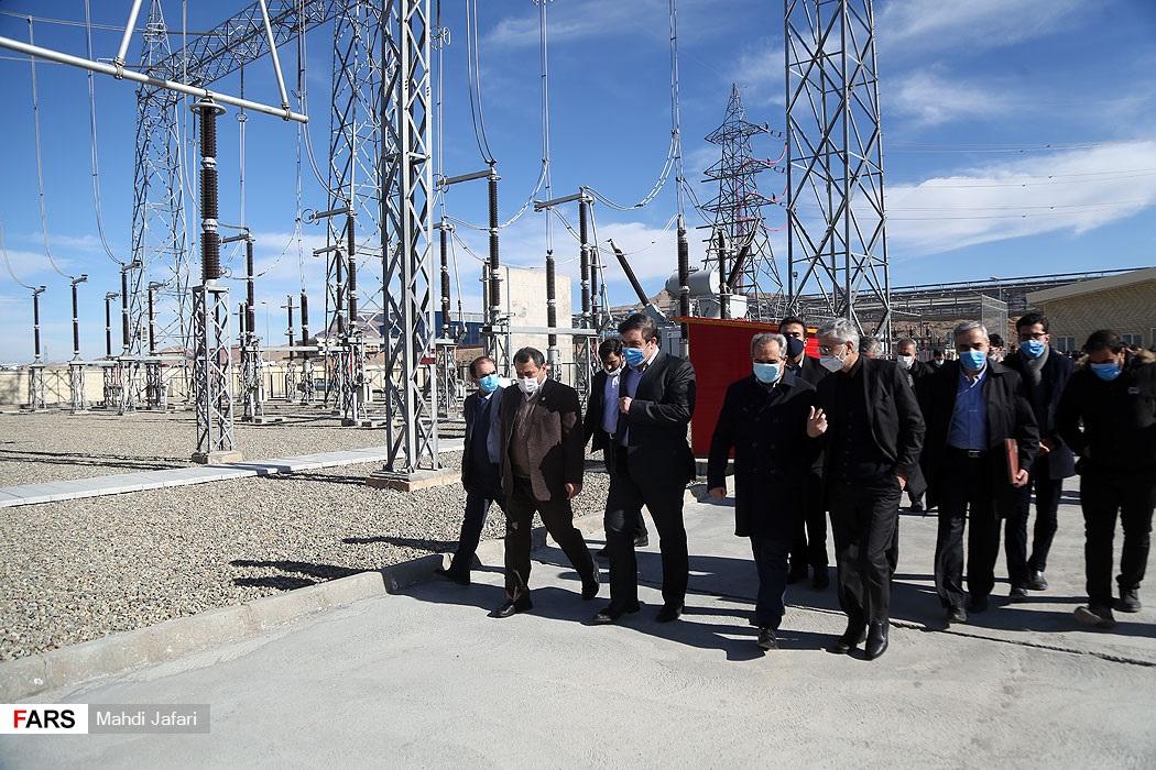 افتتاح پروژههای صنعت آب و برق قم با حضور ویدئوکنفرانسی وزیر نیرو در پست 400 کیلوولت ذوب گستر