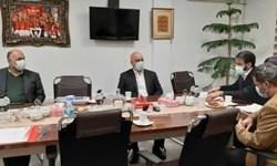 اولین جلسه هیات مدیره با حضور گلمحمدی و اعضای جدید