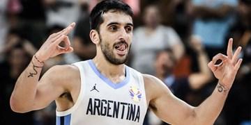 فیلم| پاس غافلگیر کننده ستاره آرژانتینی NBA