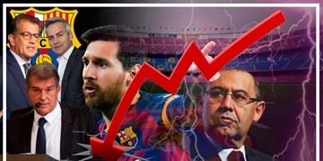 بررسی احتمال ورشکستگی بارسلونا / آیا مسی باید فروخته شود؟