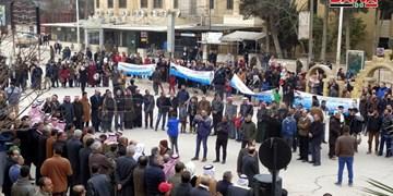 تصاویر | تظاهرات ساکنان الحسکه و قامشلی سوریه علیه اشغالگری آمریکا