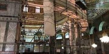 اردن: عملیات مرمت و بازسازی مسجدالاقصی ازسر گرفته شد