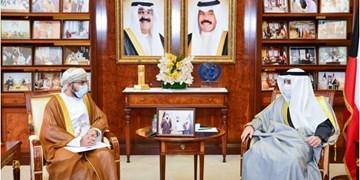 پیام مکتوب سلطان عمان به امیر کویت