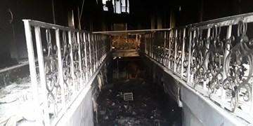 آتشسوزی در پاساژ مرکزی خرمآباد/ حضور بهموقع مانع سرایت آتش شد